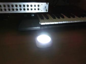 ミニ LED プッシュライト OHM BO-139