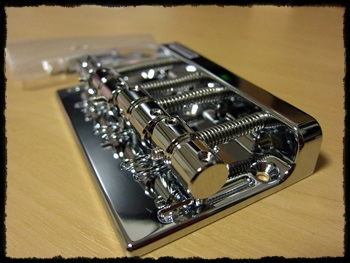 GOTOH Bass BRIDGE 201B-4 Chrome