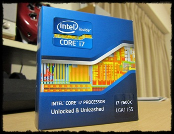 INTEL  i7 2600K SandyBridge