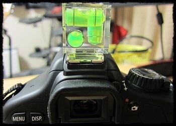 一眼レフ用アクセサリー 水準器