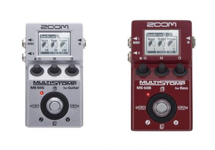 ZOOM MS-50G/MS-60B