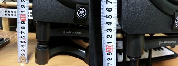 ISO-L8R155の高さ