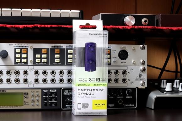 ELECOM AAC対応 Bluetooth Audio Receiver LBT-PAR150PU