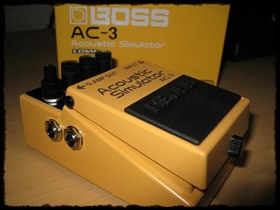 BOSS Acoustic Simulator AC-3