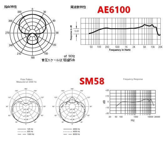AE6100/SM58