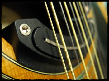 LOUIS LPG-50 Sound Hole Pick-UP