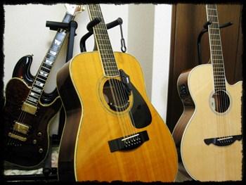 12弦ギターと6弦ギター