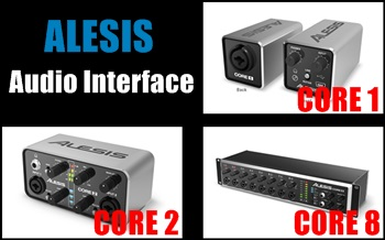 ALESIS CORE1、CORE2、CORE8