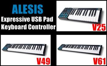 Expressive USB Pad/Keyboard Controller V25、V49、V61