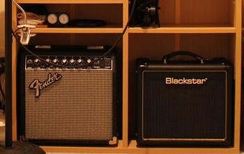 BLACKSTAR HT-1R Comboと FenderJapan SD-15
