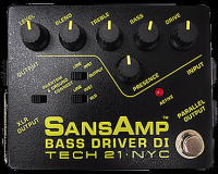 SANSAMP BASS DRIVER DI(TECH21)