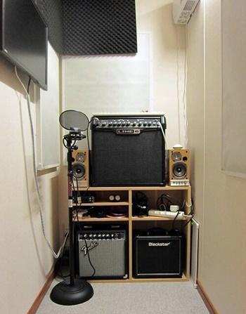 DTM部屋の防音室