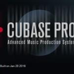 Cubase Pro 8.5.10 アップデート