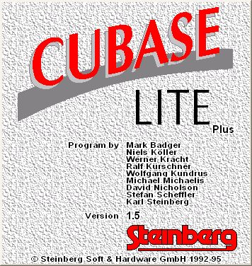 CUBASE LITE PLUS