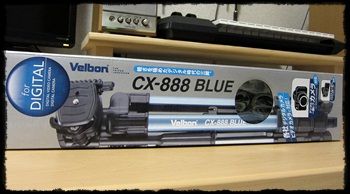 Velbon CX-888 Blue
