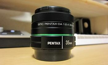 PENTAX 標準単焦点レンズ smc DA35mmF2.4AL