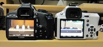 35mmと50mmでの画角の違い