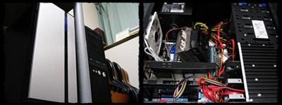 DAW用パソコン「銀の冷蔵庫」