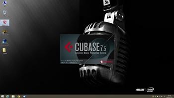 CUBASE7.5の初期化