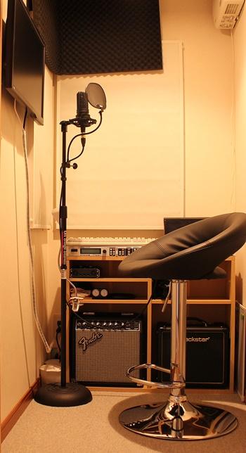 DTM部屋 防音室