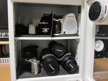 カメラ用防湿庫(デシケーター)