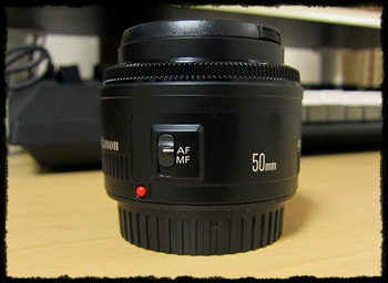 CANON EF50mm F1.8Ⅱ