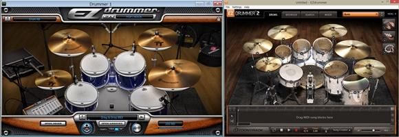 EZ Drummer1 2比較