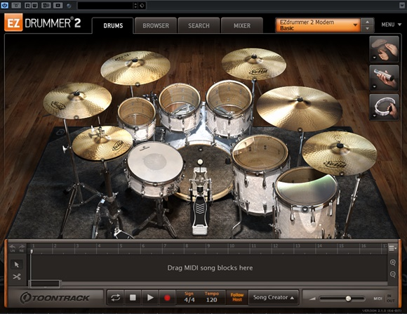EZ Drummer2