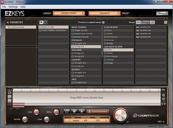 VSTに対応したピアノ音源