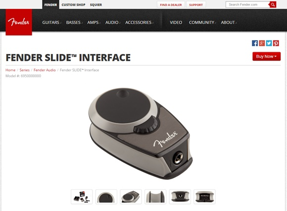 FENDER SLIDE INTERFACE