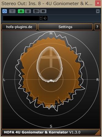 HOFA 4U Goniometer & Korrelator
