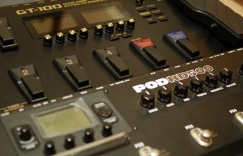 LINE6 HD500とBOSS GT-100