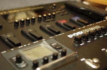 アンプシミュレーター GT-100とPOD HD500
