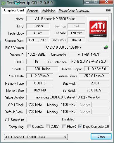 ATI  HD5750