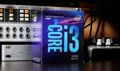 第8世代 INTEL CORE i3-8100