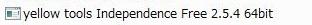 Independence Free 2.5 64bit対応