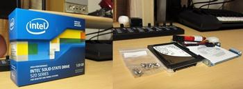INTEL SSD 520 120GB