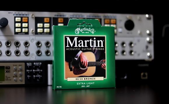 Martin アコースティックギター弦 ACOUSTIC (80/20 Bronze) M-170 Extra Light .010-.047