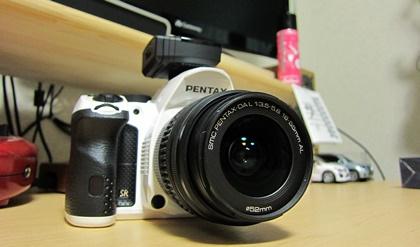 PENTAX K-30とO-GPS1