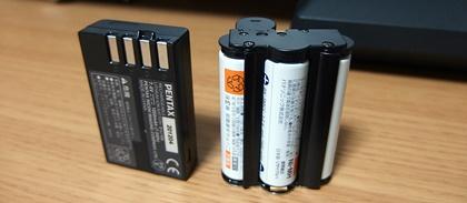 PENTAX バッテリー