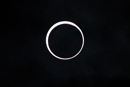 金環日食2012