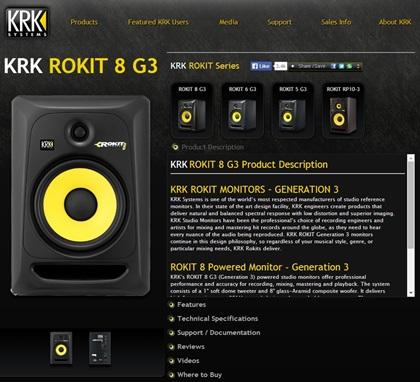 KRK KRK ROKIT 5 G3
