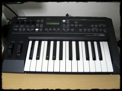 MIDIキーボード KX25