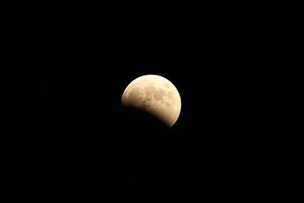 皆既月食2014年10月8日