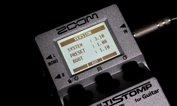 ZOOM MultiStomp Guitar Pedal MS-50G