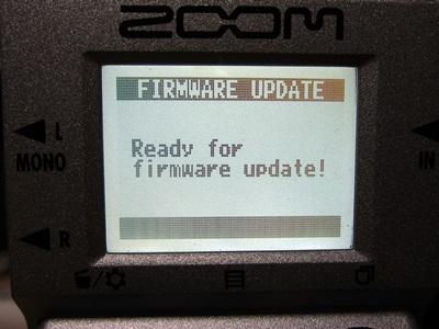 ZOOM MS-50G V2アップデート