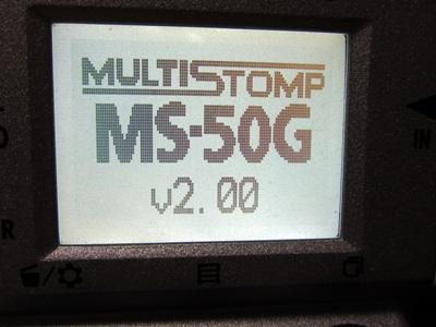 ZOOM MS-50G System v2.00