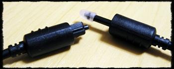 デジタル音声コード オプティカル 角型ピン型