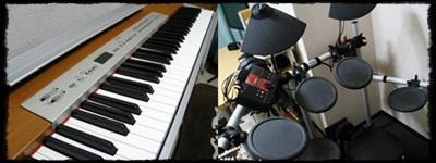 ピアノ ドラム