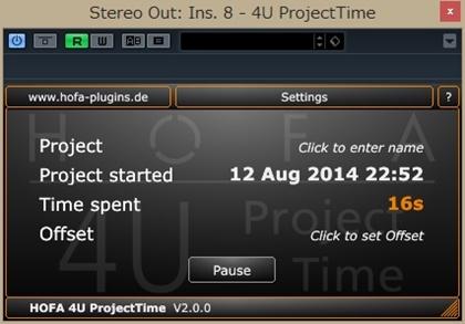 HOFA 4U ProjectTime